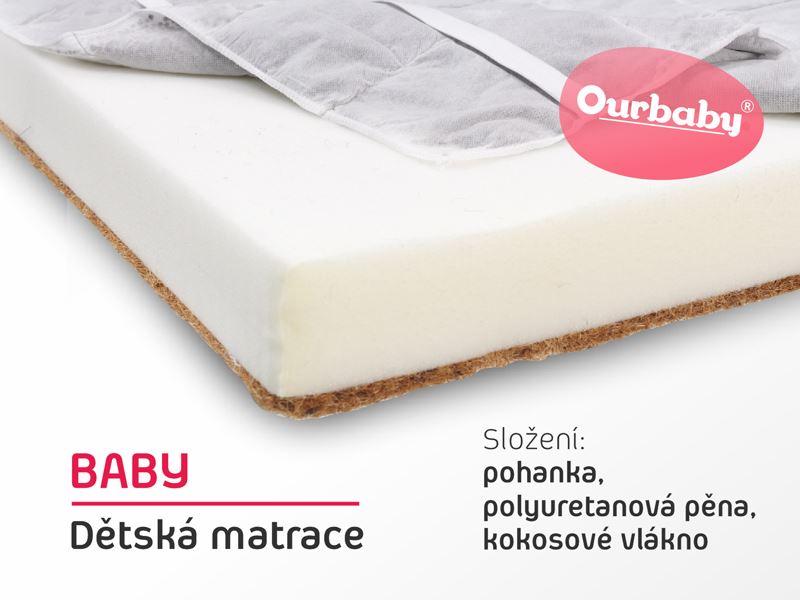 Dětská matrace BABY - 140x70