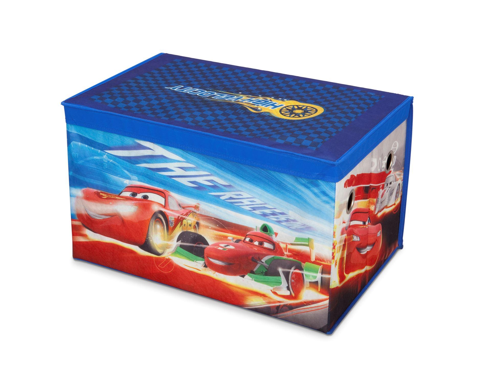 Látková truhla na hračky Cars