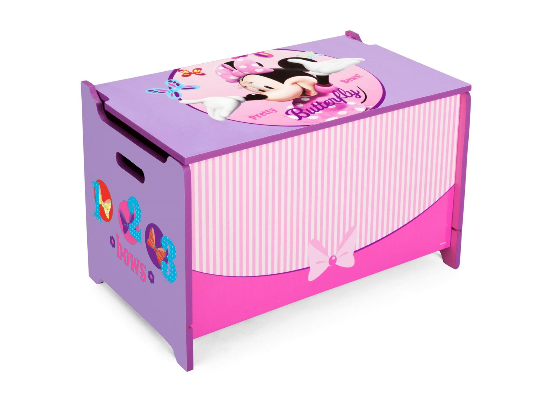 Dětská dřevěná truhla Minnie Mouse Myška