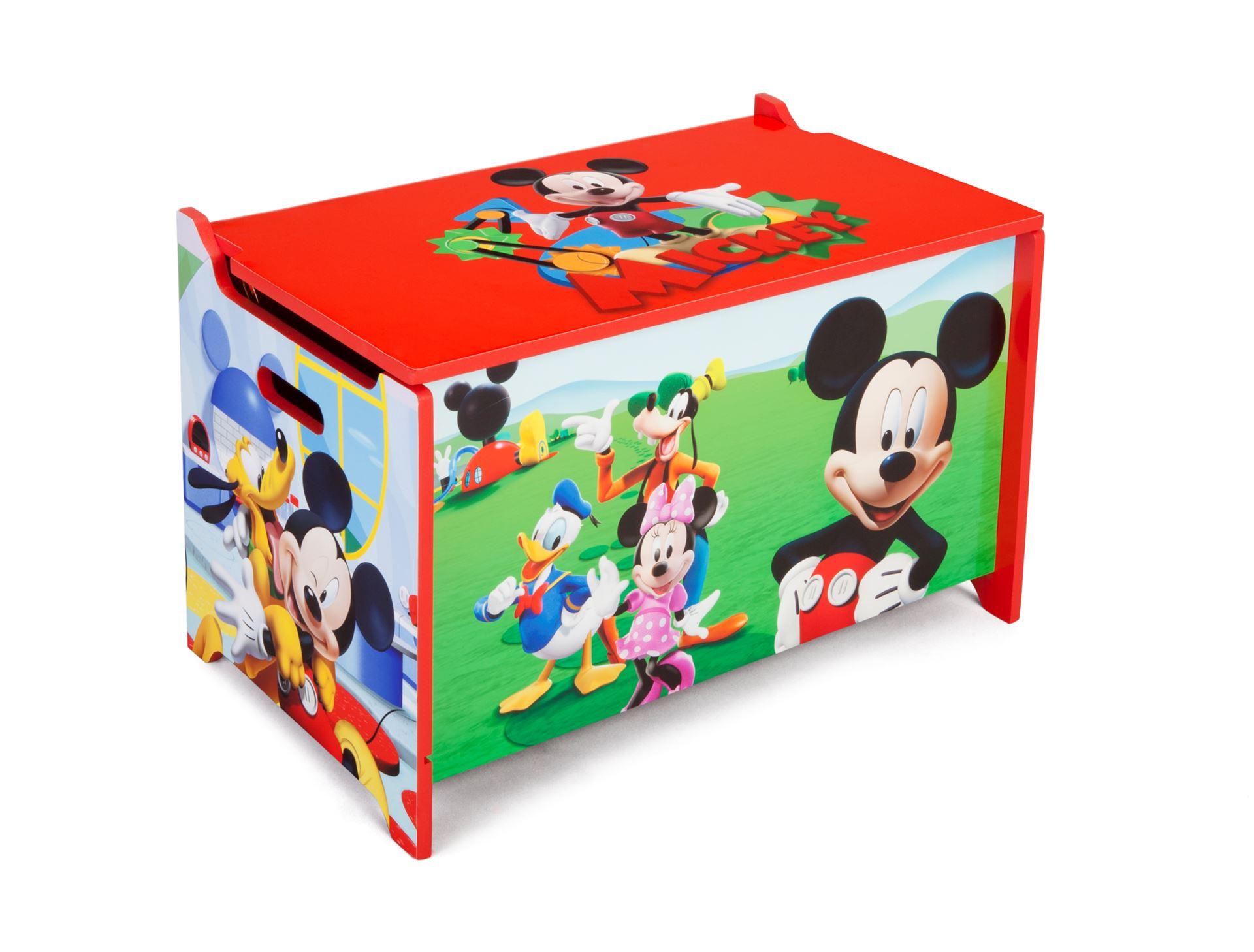 Dětská dřevěná truhla Mickey Mouse Myšáka