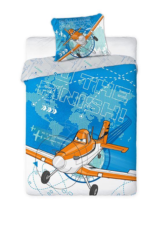 Dětské povlečení Letadla 04 160x200