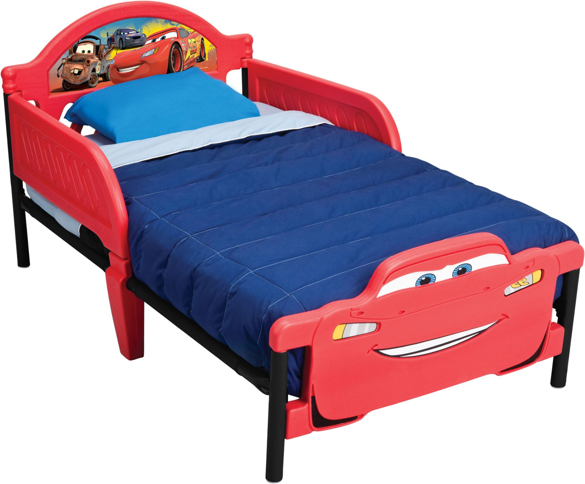 Dětská postel Cars 2 140x70 cm