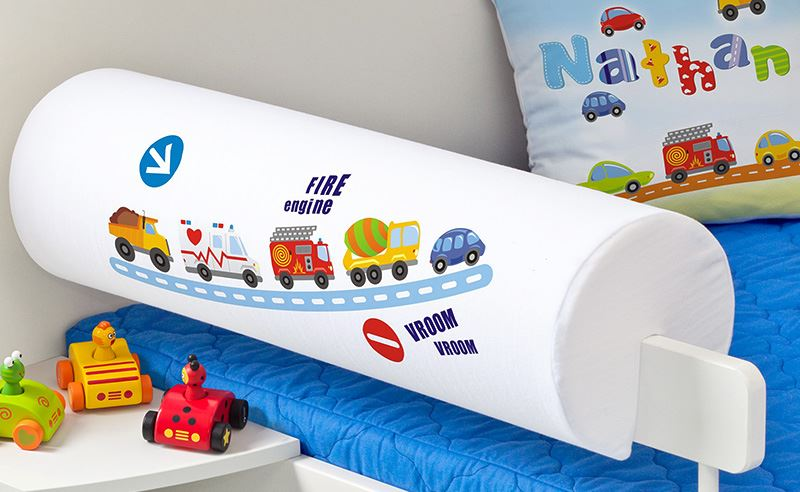 Dětský chránič na postel - Auta