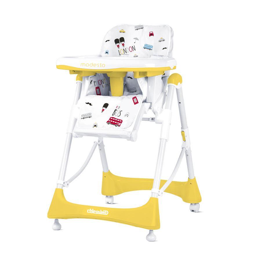 Dětská jídelní židlička Modesto - Lemon