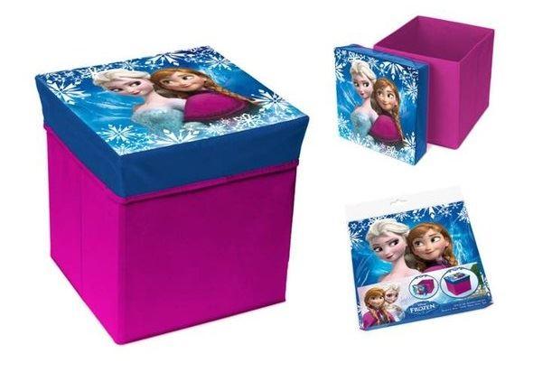 Skládací úložný box - sedátko 2v1 Frozen