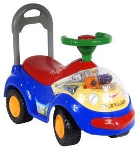 Odrážedlo pro děti - modré auto