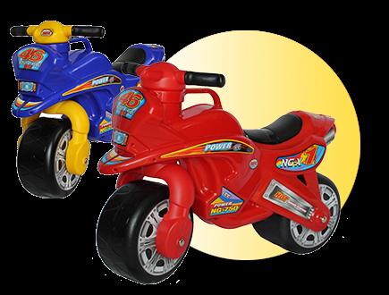 Dětské odrážedlo motorka - Červená