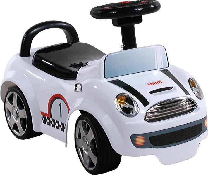 Dětské odrážedlo Formule - Bílá