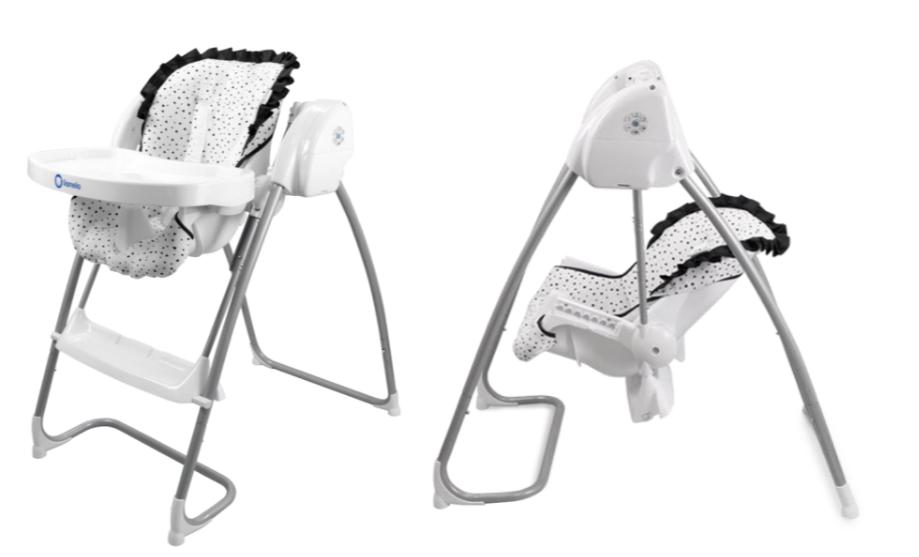 Dětská jídelní židlička 2 v 1