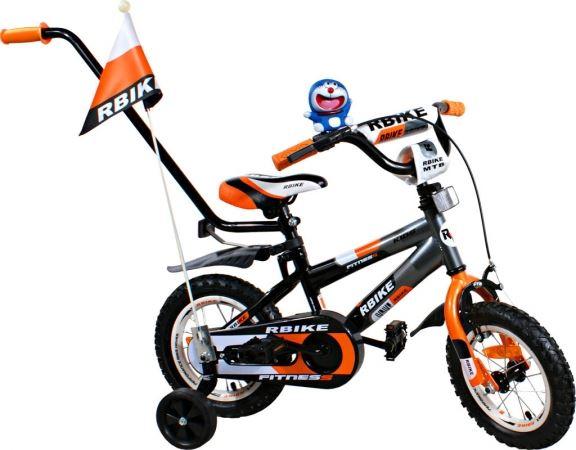 """Dětské kolo BMX 3 - 12"""" - Oranžová"""
