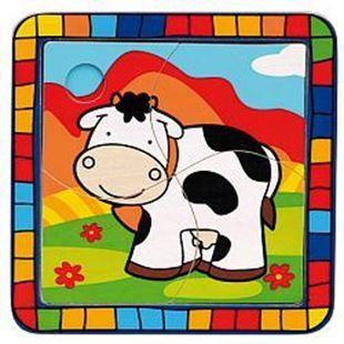 Obrázek Vkládací puzzle Kráva