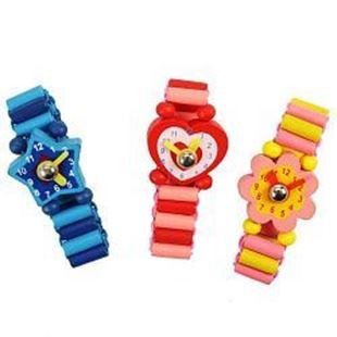 Obrázek Bigjigs dřevěné náramkové hodinky