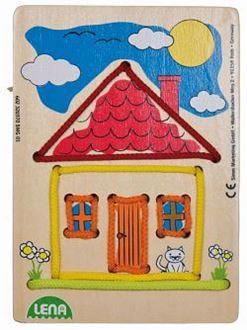 Obrázek z Navlékací obrázek - dům