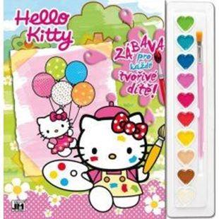 Obrázek Omalovánky set s barvami A4 Hello Kitty