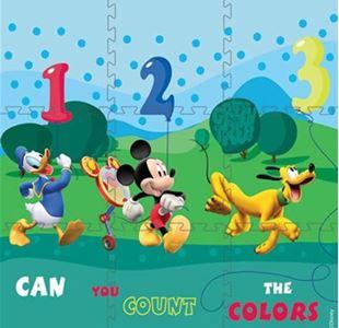 Obrázek Pěnové puzzle koberec Mickey Mouse 853 90x90