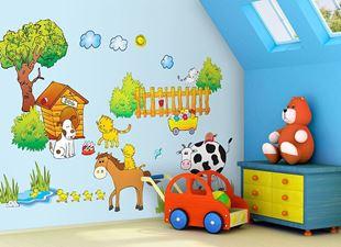 Obrázek Samolepky na zeď Farma