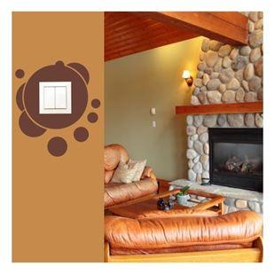Obrázek Samolepící textilní ochrana vypínače - bubliny č. 10