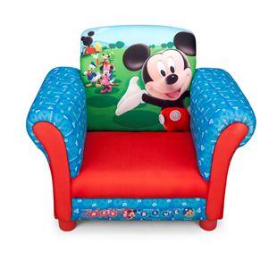 Obrázek Disney dětské čalouněné křesílko Mickey Mouse