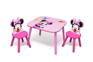 Obrázek Dětský stůl s židlemi myška Minnie II