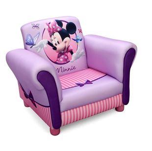 Obrázek Disney dětské čalouněné křesílko Minnie Mouse