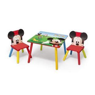 Obrázek Dětský stůl s židlemi Myšák Mickey II