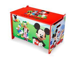 Obrázek Dětská dřevěná truhla  Mickey Mouse Myšáka