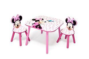 Obrázek Dětský stůl s židlemi Minnie III Myška