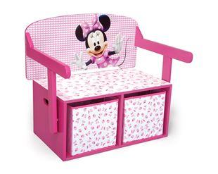 Obrázek Dětská lavice s úložným prostorem Myška Minnie Minni