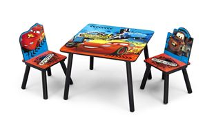 Obrázek Dětský stůl s židlemi Cars II