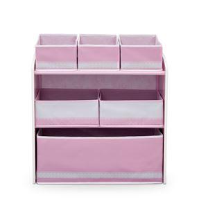 Obrázek Organizér na hračky růžová