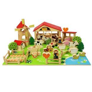 Obrázek Velká dřevěná farma