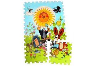 Obrázek Pěnové puzzle Krtek 30x30cm 6ks