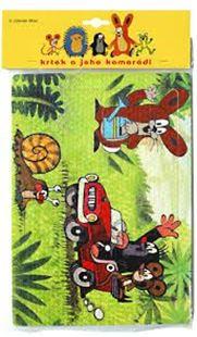 Obrázek Pěnové puzzle 24 dílků - Krtek a autíčko