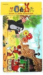 Obrázek Pěnové puzzle 24 dílků - Krtek a myšky