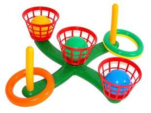 Obrázek Házení kroužků a míčků