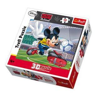 Obrázek Mickey Mouse puzzle Trefl 3D