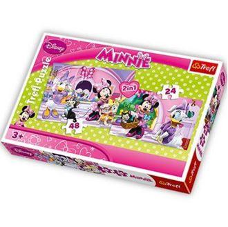 Obrázek z Minnie puzzle Trefl 2v1