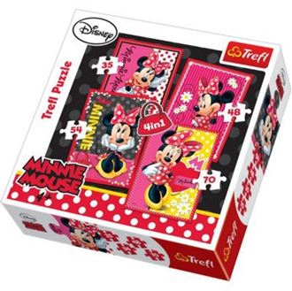 Obrázek z Puzzle Minnie 4v1