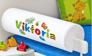 Obrázek Chránič na postel se jménem - Louka + jméno