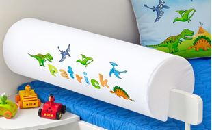 Obrázek Chránič na postel se jménem - Dinosauři + jméno