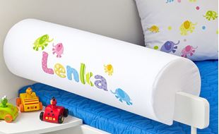 Obrázek Chránič na postel se jménem - Sloni + jméno