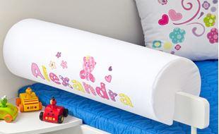 Obrázek Chránič na postel se jménem - Baby Pink+  jméno