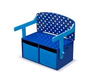 Obrázek Dětská lavice s úložným prostorem hvězdy