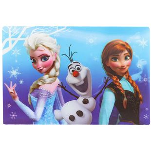 Obrázek Podložka Ledové království 3D - Anna, Elsa a Olaf