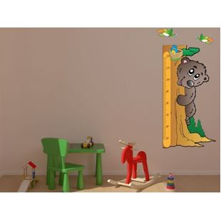 Obrázek Metr na stěnu - Medvěd