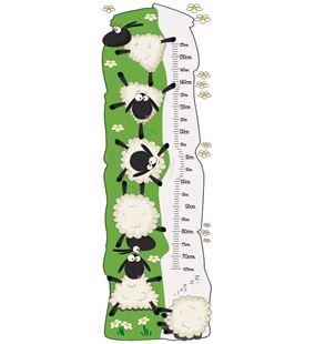 Obrázek Metr na stěnu - Ovečky