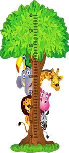 Obrázek Metr na stěnu - Velký strom