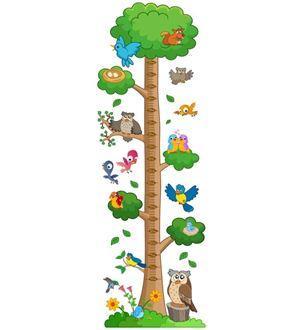 Obrázek z Metr na stěnu - Ptáci na stromě