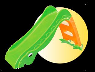 Obrázek Dětská skluzavka dinosaurus