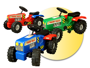 Obrázek Dětský šlapací traktor